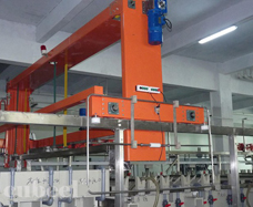 Automatic production line of immersion copper and plating