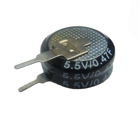 Coin Type Super Capacitors